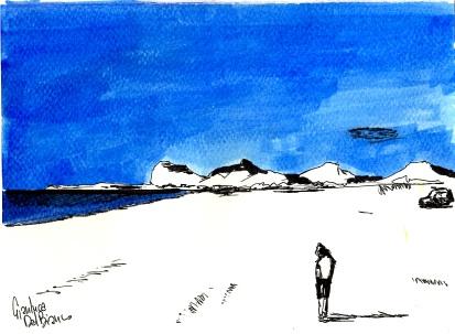 Anna in afandou beach