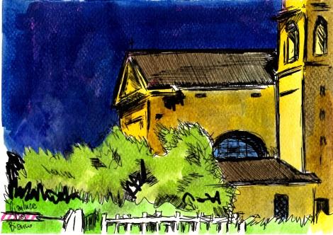 la chiesetta di Vivaro