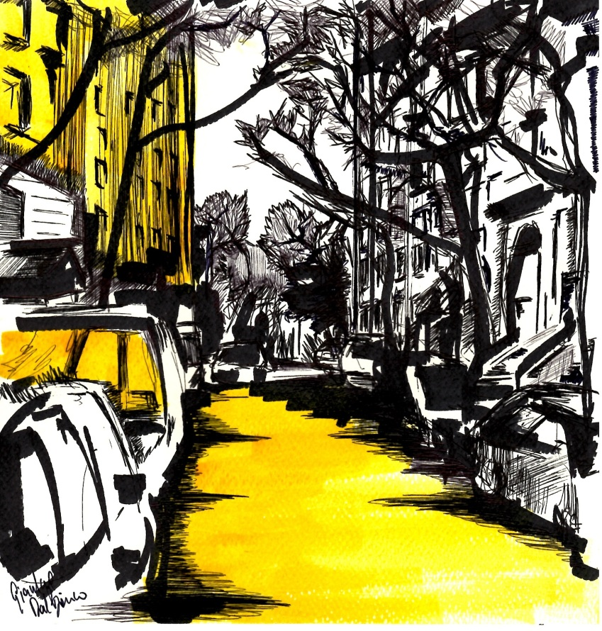 W. 71 st yellow light
